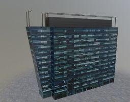 3D asset Moscow Building 1