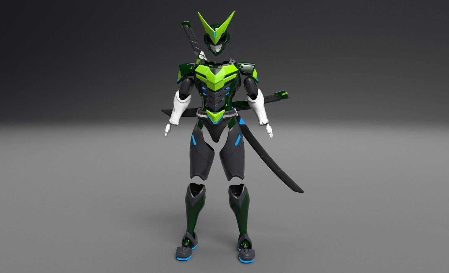 Genji Sentai full armor