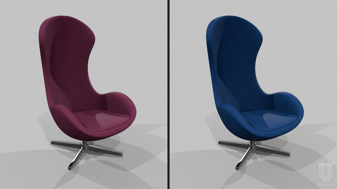 chair pack 2in1 3d model max obj mtl 3ds fbx 1