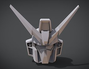 3D printable model artifact GAT-04 Windam Head