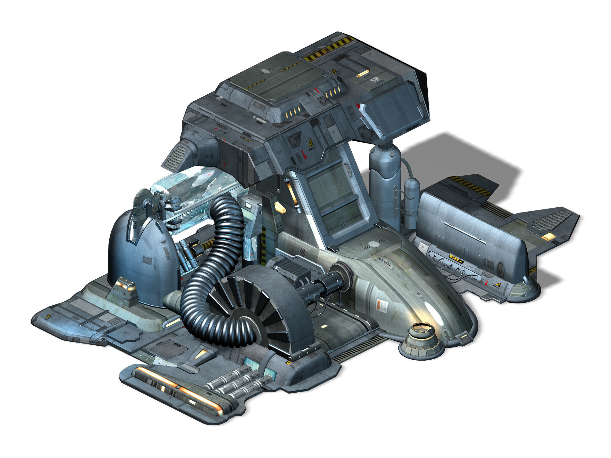 Machinery - Spacecraft - Functional Objects 03