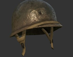 Helmet Military WW2 Soldier Army 3D model