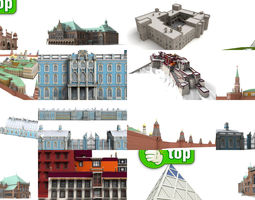 3D 7x the most beautiful palaces in the world