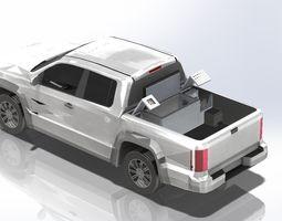 Refrigerator - Freezer Pick Up 3D
