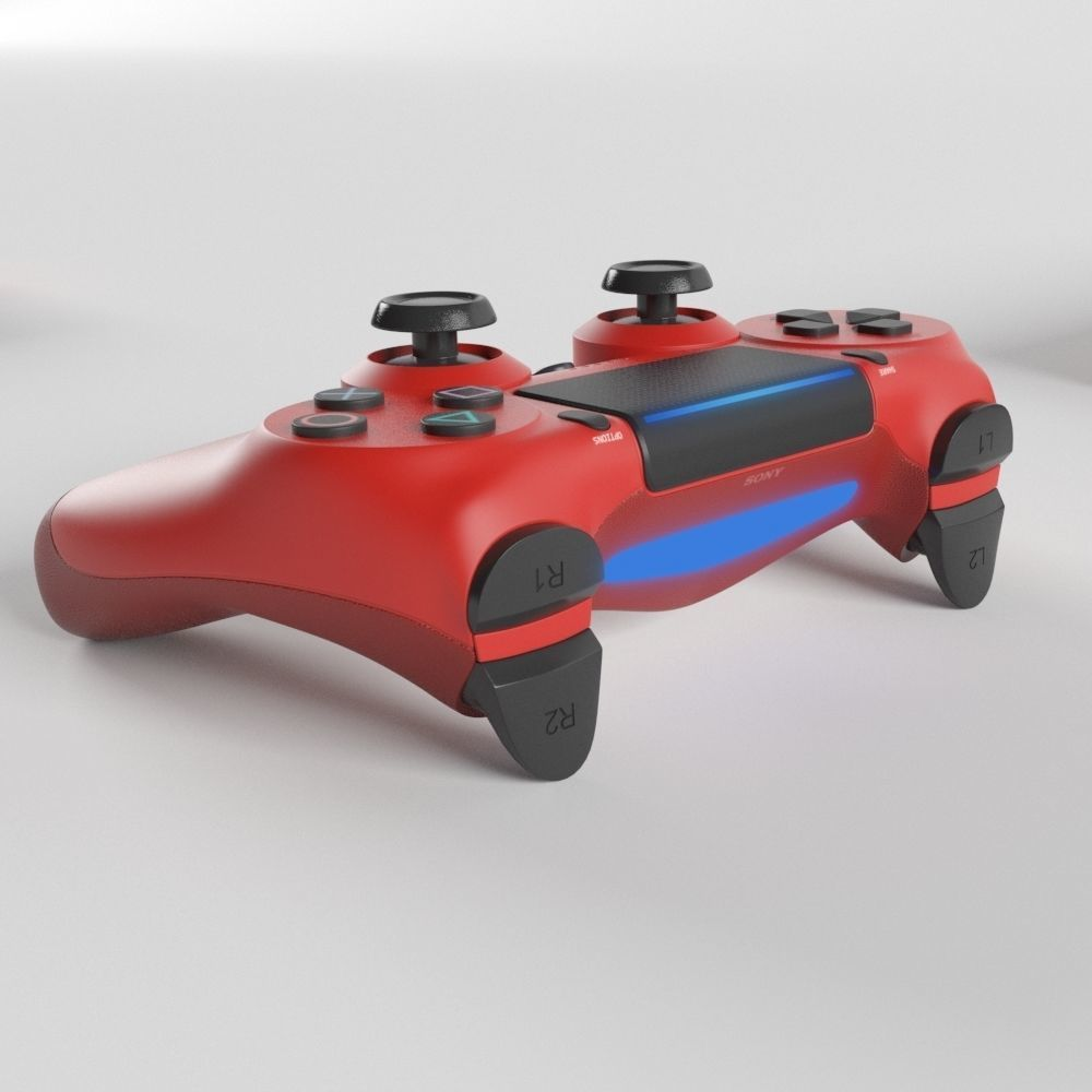 Sony PlayStation 4 DualShock Controller Magma Red Edition