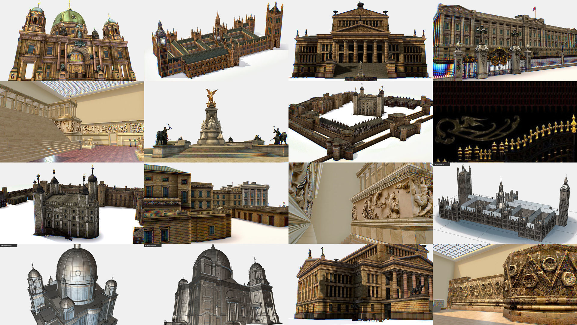 AR VR Historical Building Architectural Monument
