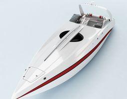 Yacht 010 3D