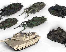 3D Tanks - Abrams - DMs Used