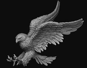 Hawk hunting 3D print model