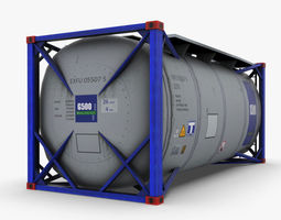 3D asset Tank Container