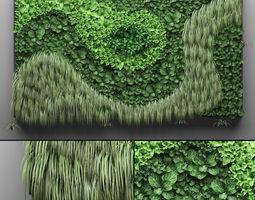 Vertical gardening vertical 3D model