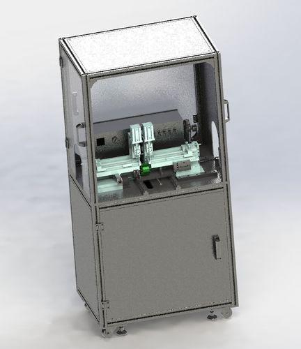 e type spring pack assembly machine 3d model max obj mtl 3ds fbx stl sldprt sldasm slddrw 1