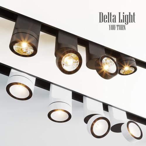 delta light you-turn lamps 3d model max obj mtl fbx 1
