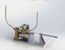 E type spring pack assembly machine 3D