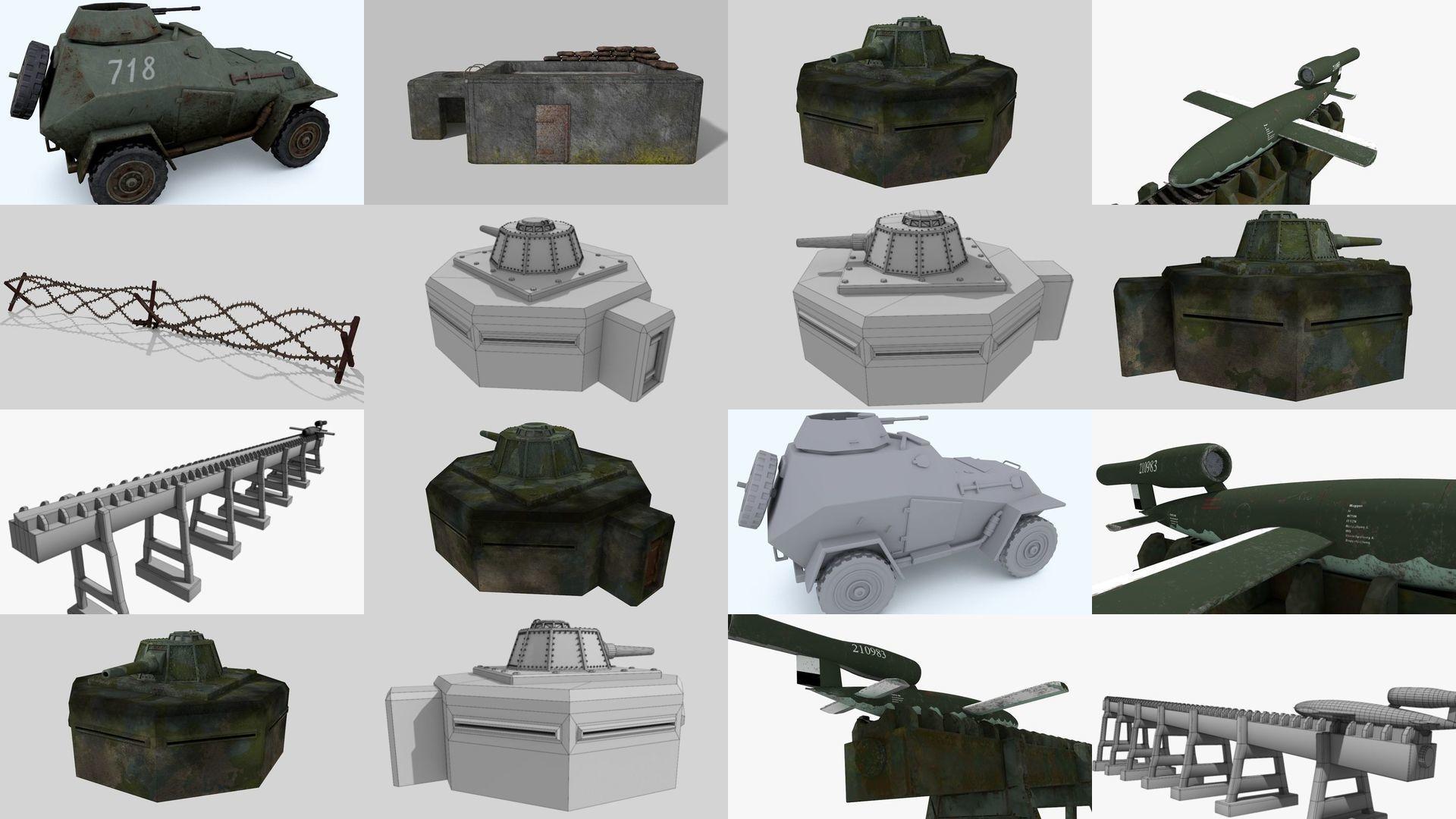 WW II pack