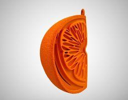 3D print model Orange Ornament