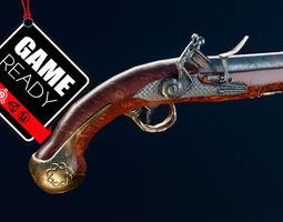 3D model Flintlock Pistol