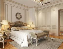 Villa Bedrom Classical 3D