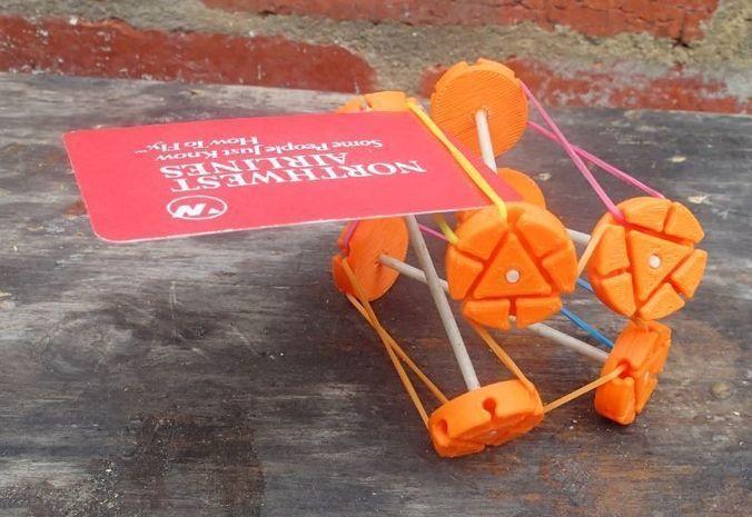 construction wheel 3d model stl 1