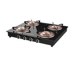 Cooktop Splendor 4BB BK 3D model