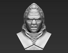 Lurtz Lord of the Rings bust 3D printing ready stl obj 1
