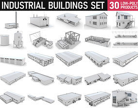 3D model Industrial Buildings Collection