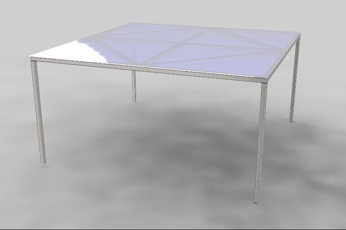 3d table design 3d model cgtrader for Table design 3d