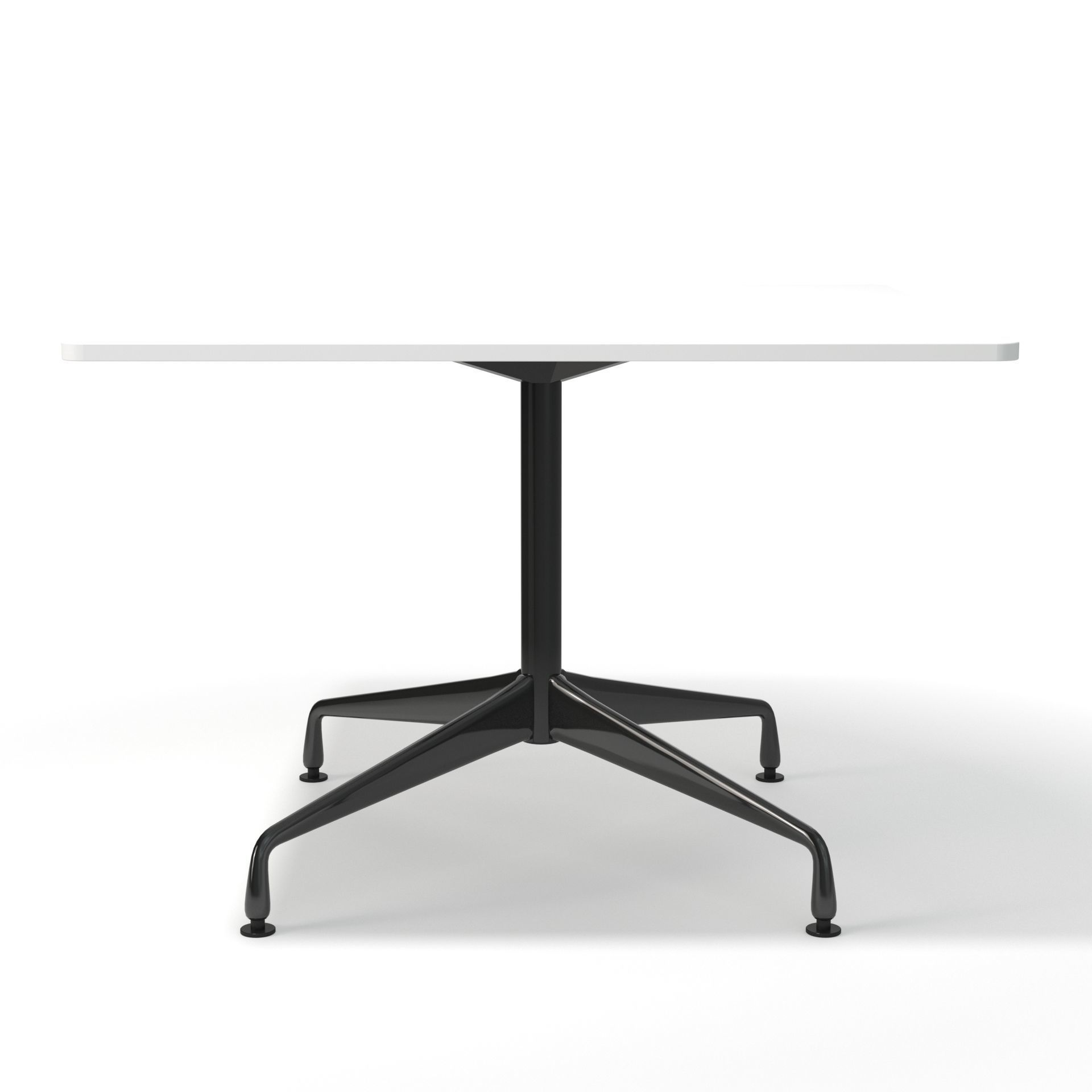 Eames Square Meeting Table D Model CGTrader - Square meeting table