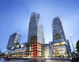 3d model skyscraper business center 029