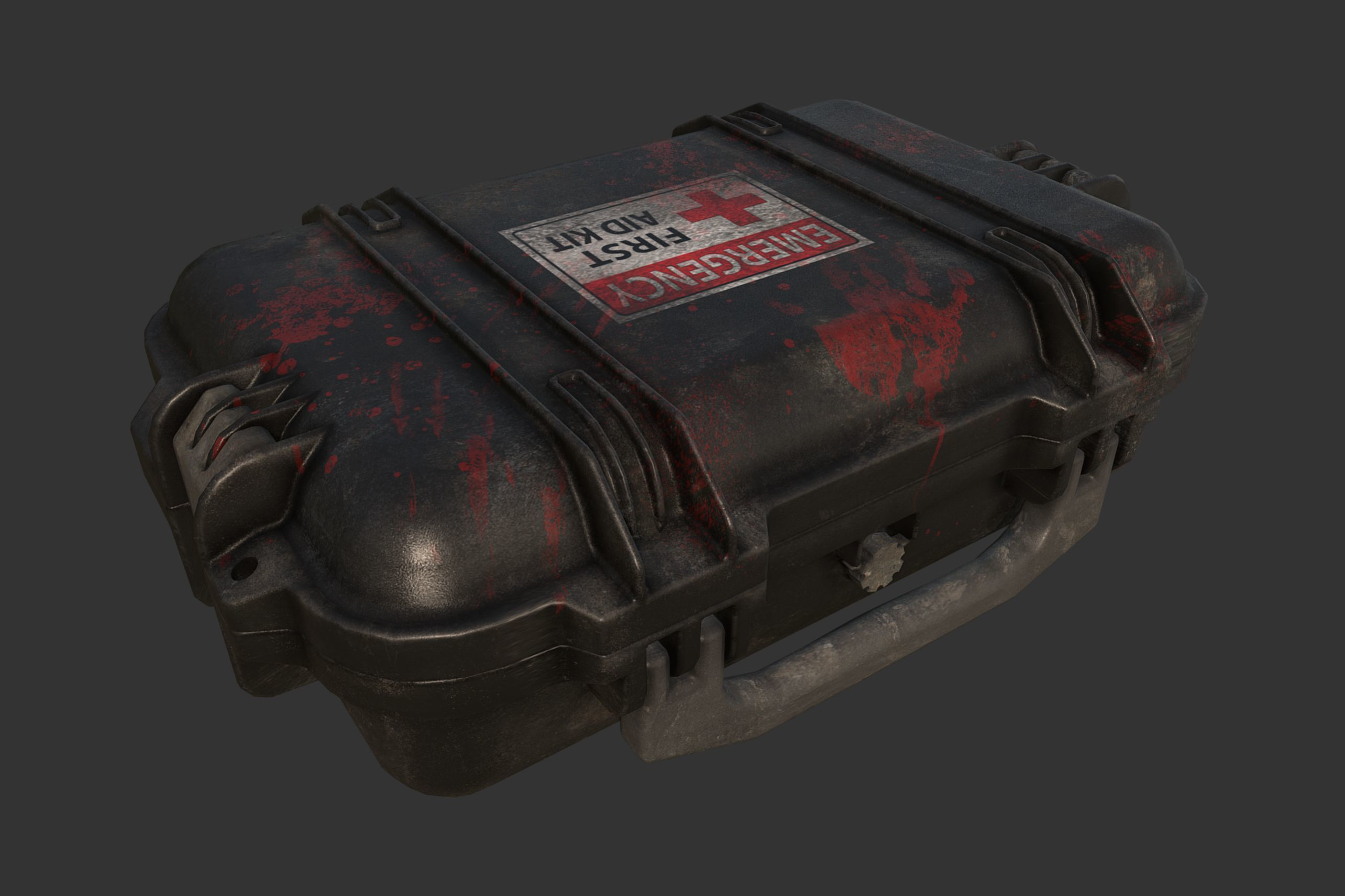 First Aid Kit Military Case | 3D model