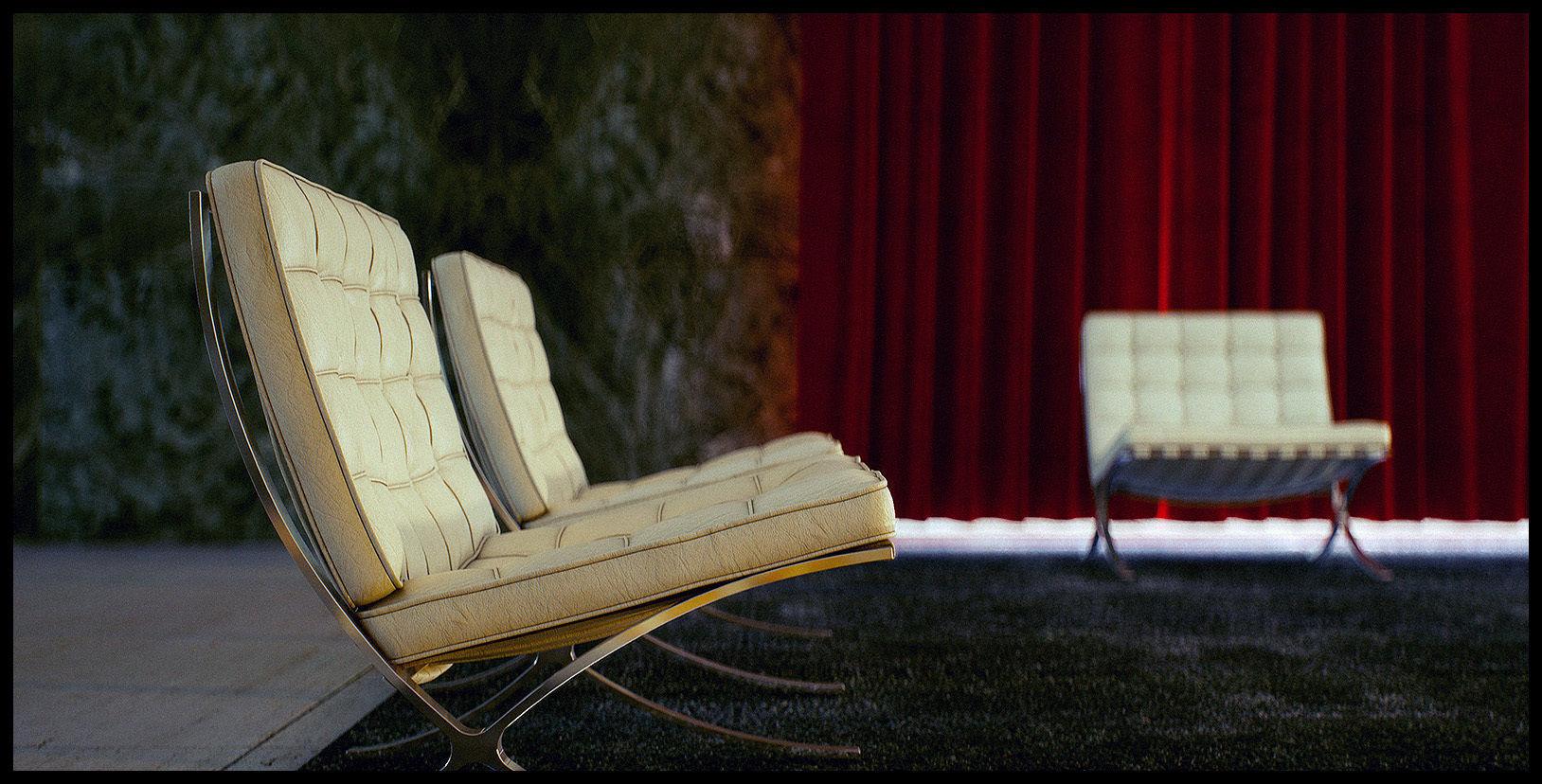 Mies Van Der Rohe Barcelona Pavilion Third Animated 2
