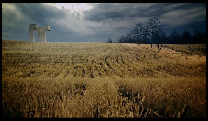 chillida praise the horizon third - seventh 3d scene 3d model animated max pdf 1