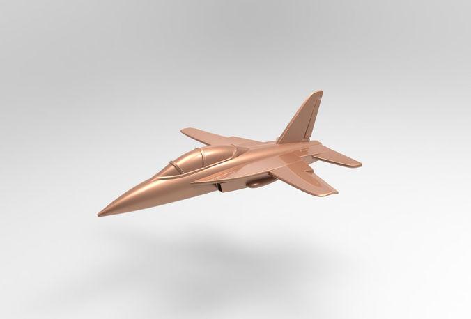 aircraft rc-10  3d model max obj mtl stl 1