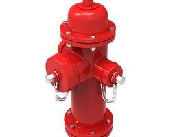 american darling b 84 b 5 fire hydrant 3d