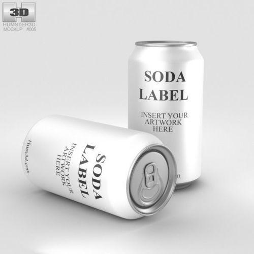 soda can 3d model max obj mtl 3ds fbx c4d lwo lw lws 1