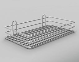 3D model game-ready Kitchenware Metal Part