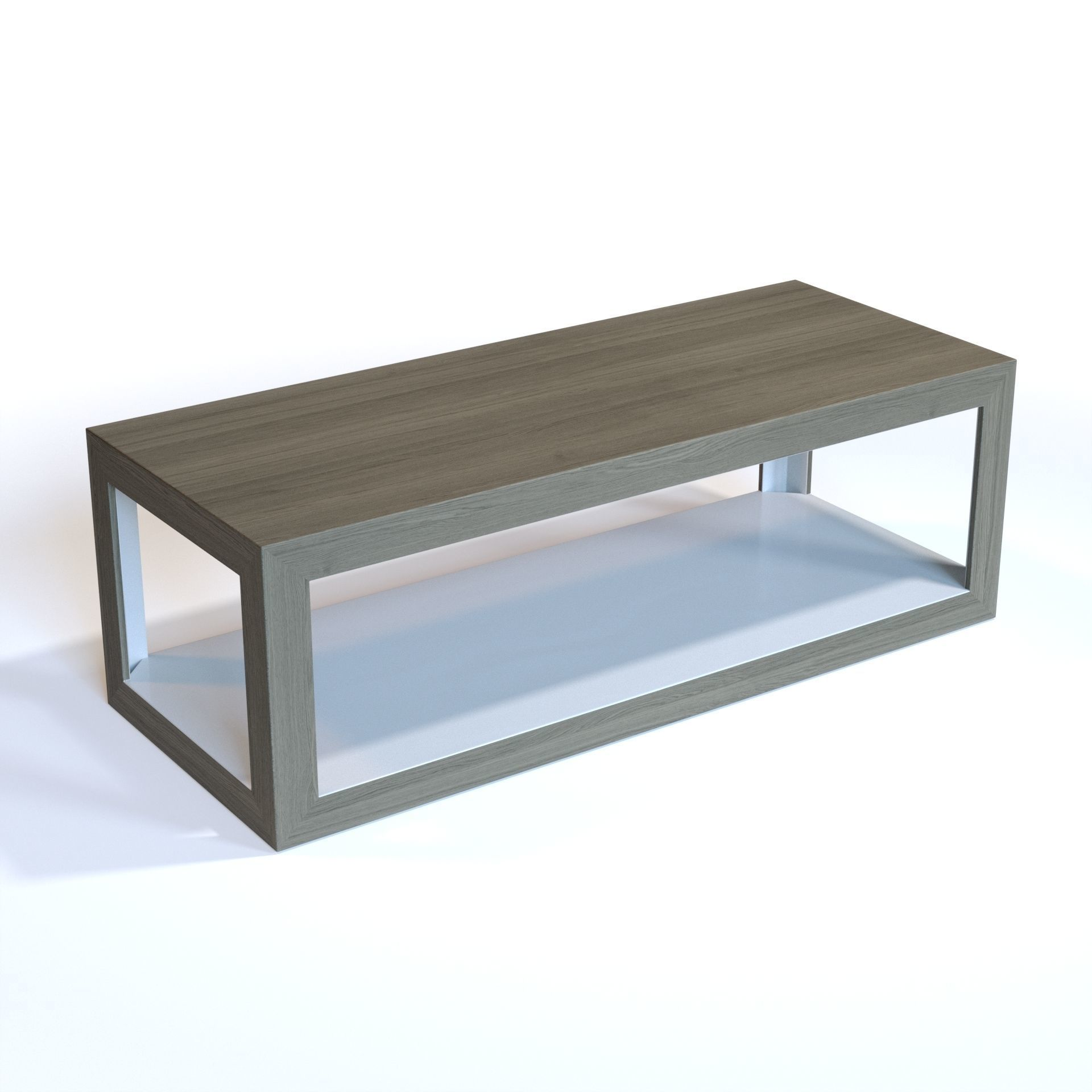 - 3D Bernhardt Interiors - Oldham Cocktail Table CGTrader
