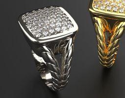 jewelry Beautiful Ring 3D print model