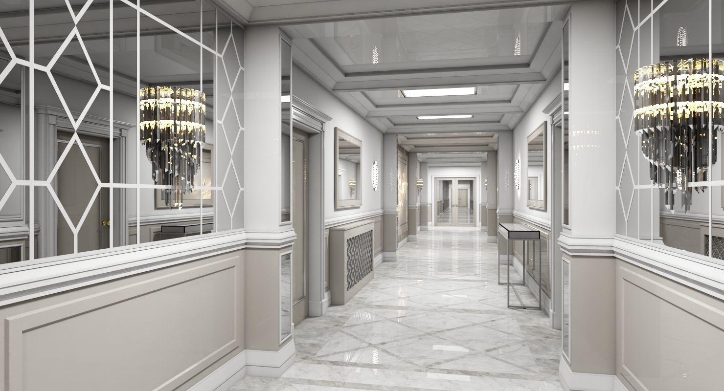 Grand Corridor Tileable Kit 2