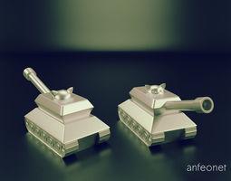 Cat in a Tank 3D printable model