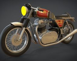 1974 Norton Commando 3D asset realtime