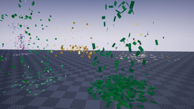 Confetti FX Pack - Unreal Engine 4 | 3D model