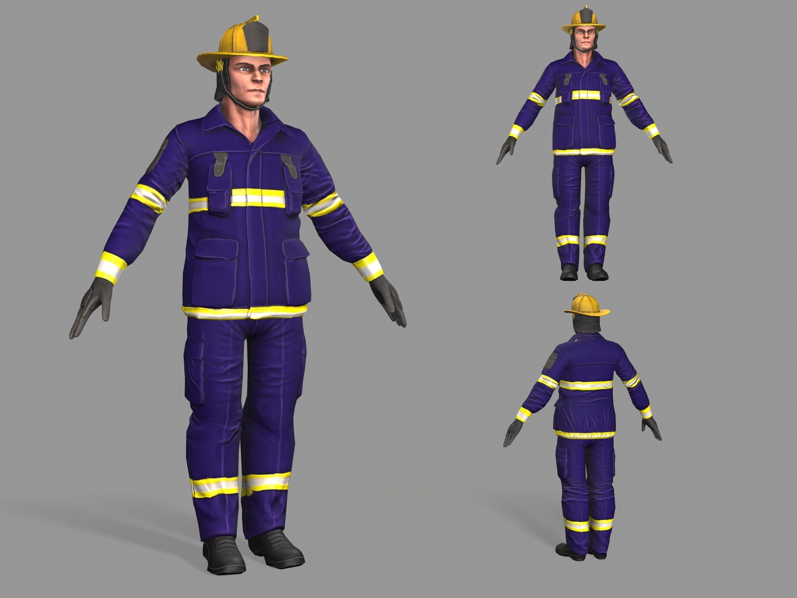 Firefighter  Man