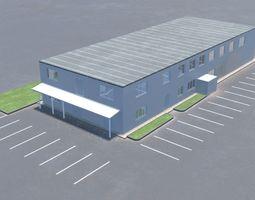 Building office v6 3D model
