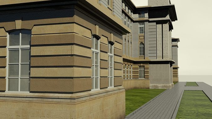Neoclassical Building