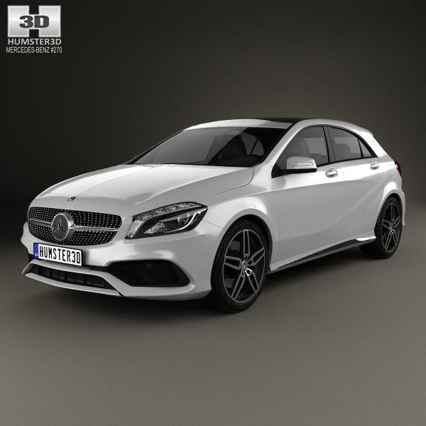 Mercedes-Benz A-Class W176 AMG Line 3D Model