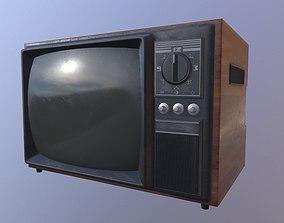 Old Tv 3D model VR / AR ready PBR