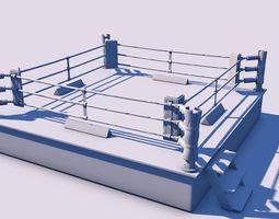 Boxing Ring 3D model boxing-ring-game