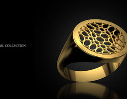 3D printable model Ring Signet
