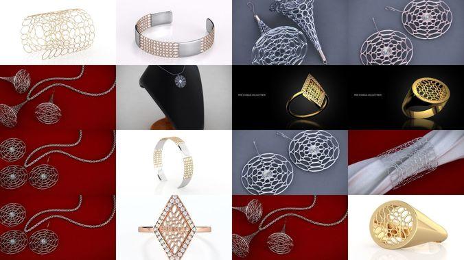 camail jewelry 3d model stl 3dm 1